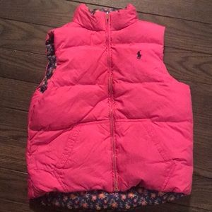 Ralph Lauren reversible kids vest.